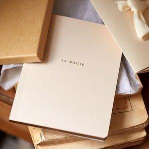 "NEW Sezane ""La Magie"" Magic Blank Gift Notebook"